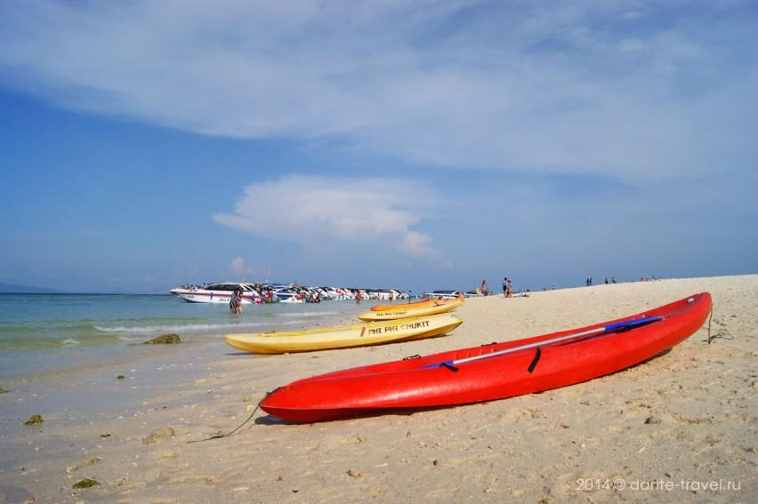 kayaking Phi Phi