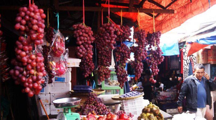 Рынок фруктов в Берастаги