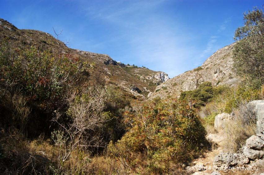 Горы в Кульере, Валенсии