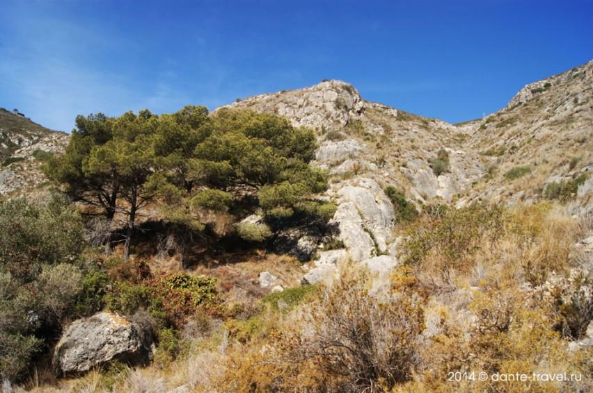 Горы в Валенсии и ККульере, замок в Кульере, Как доехать до Кульеры из Валенсии