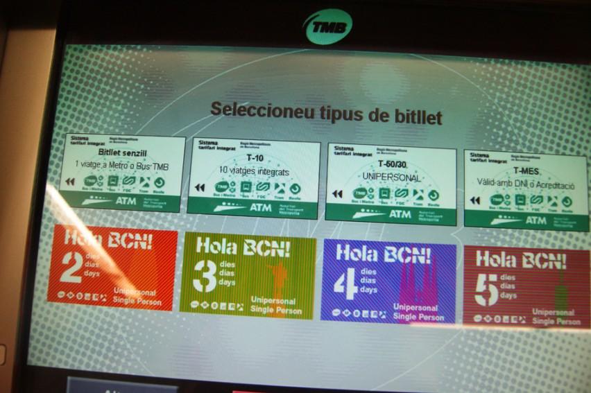 metro v Barcelona