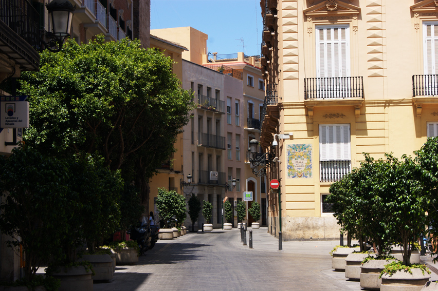 Улицы в Валенсии