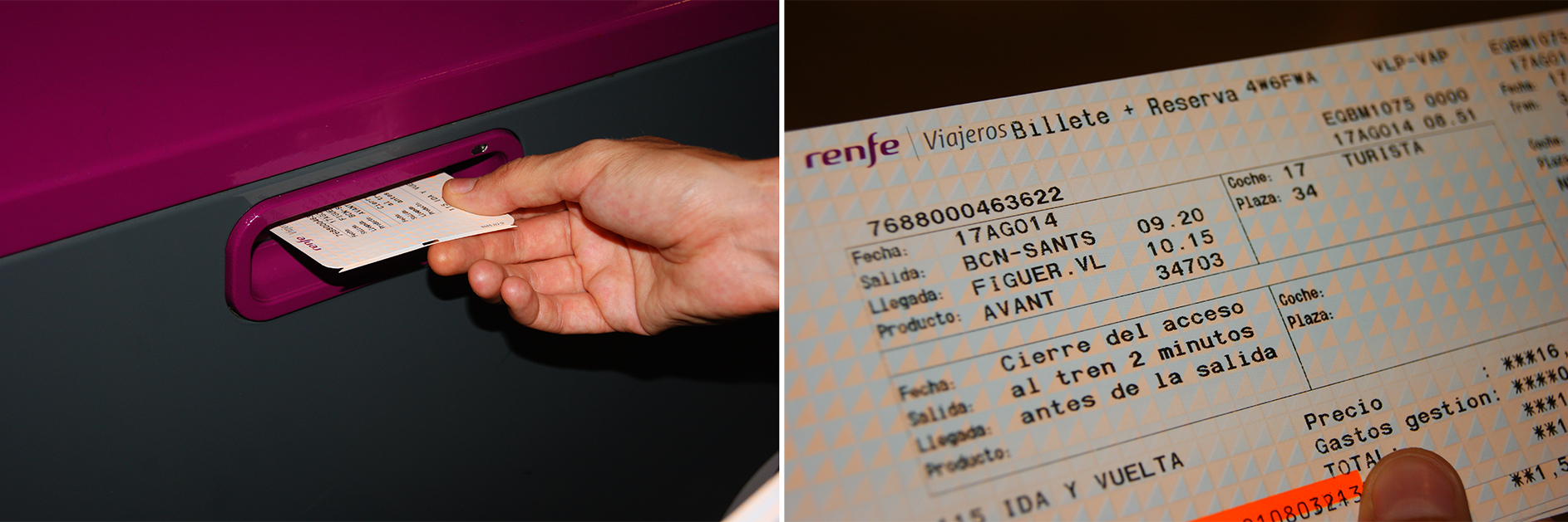 Renfe-Billete