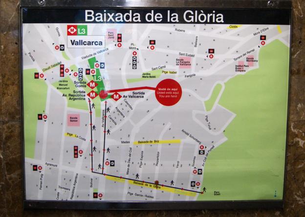map-in-barcelona