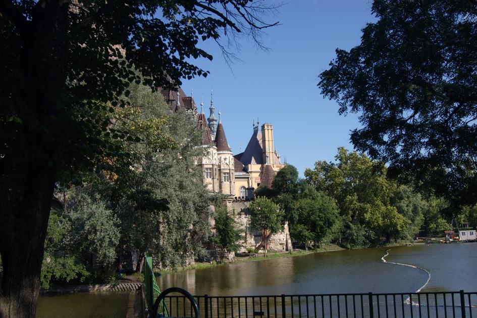 Замок Будапешт Вайдахуняд