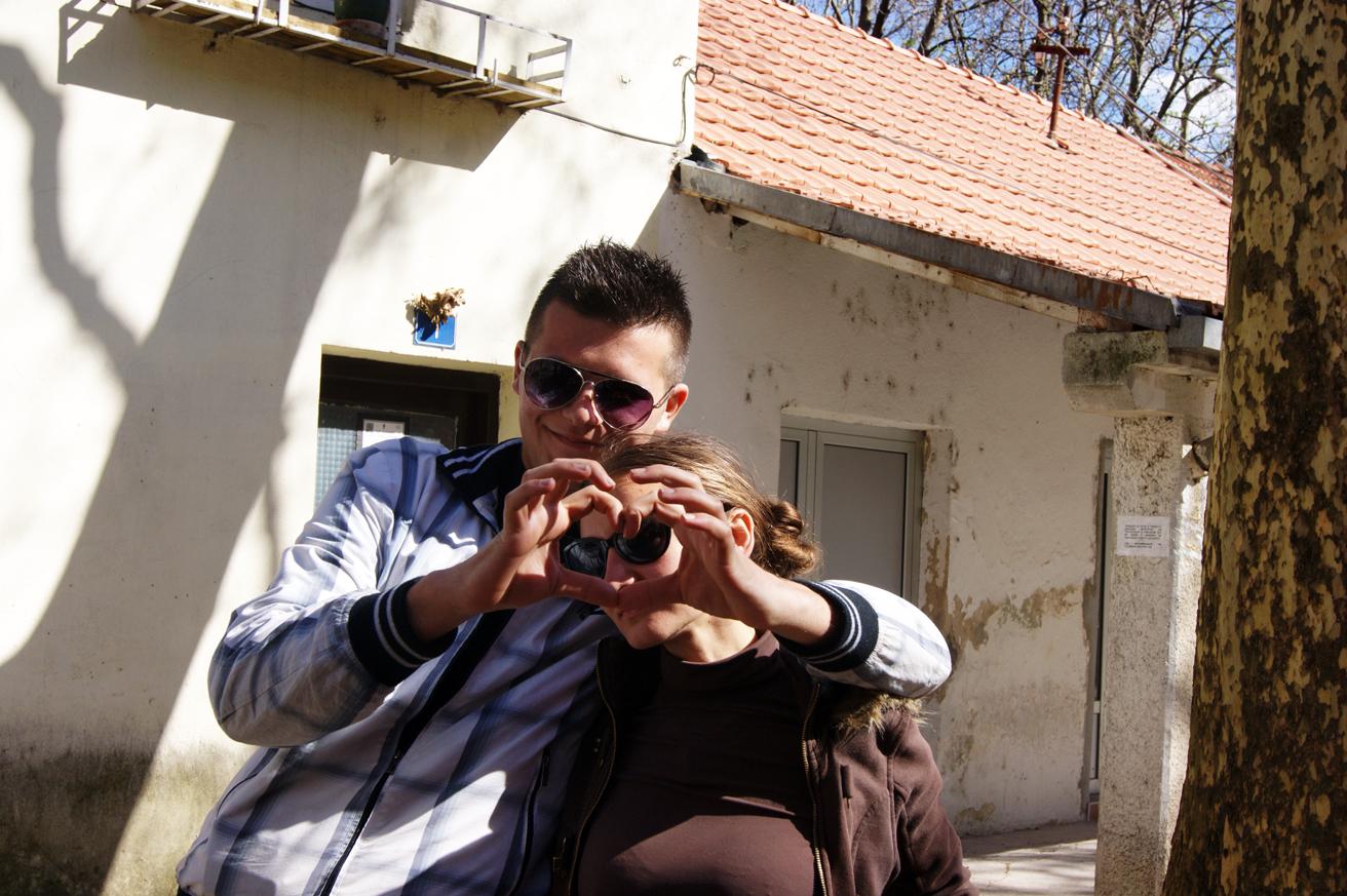 я и Драган в Боснии