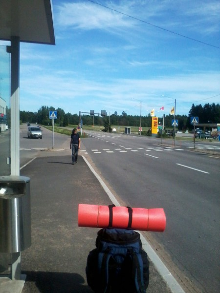 hitchhiking in Finland
