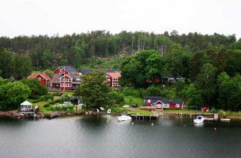 по пути в Швецию