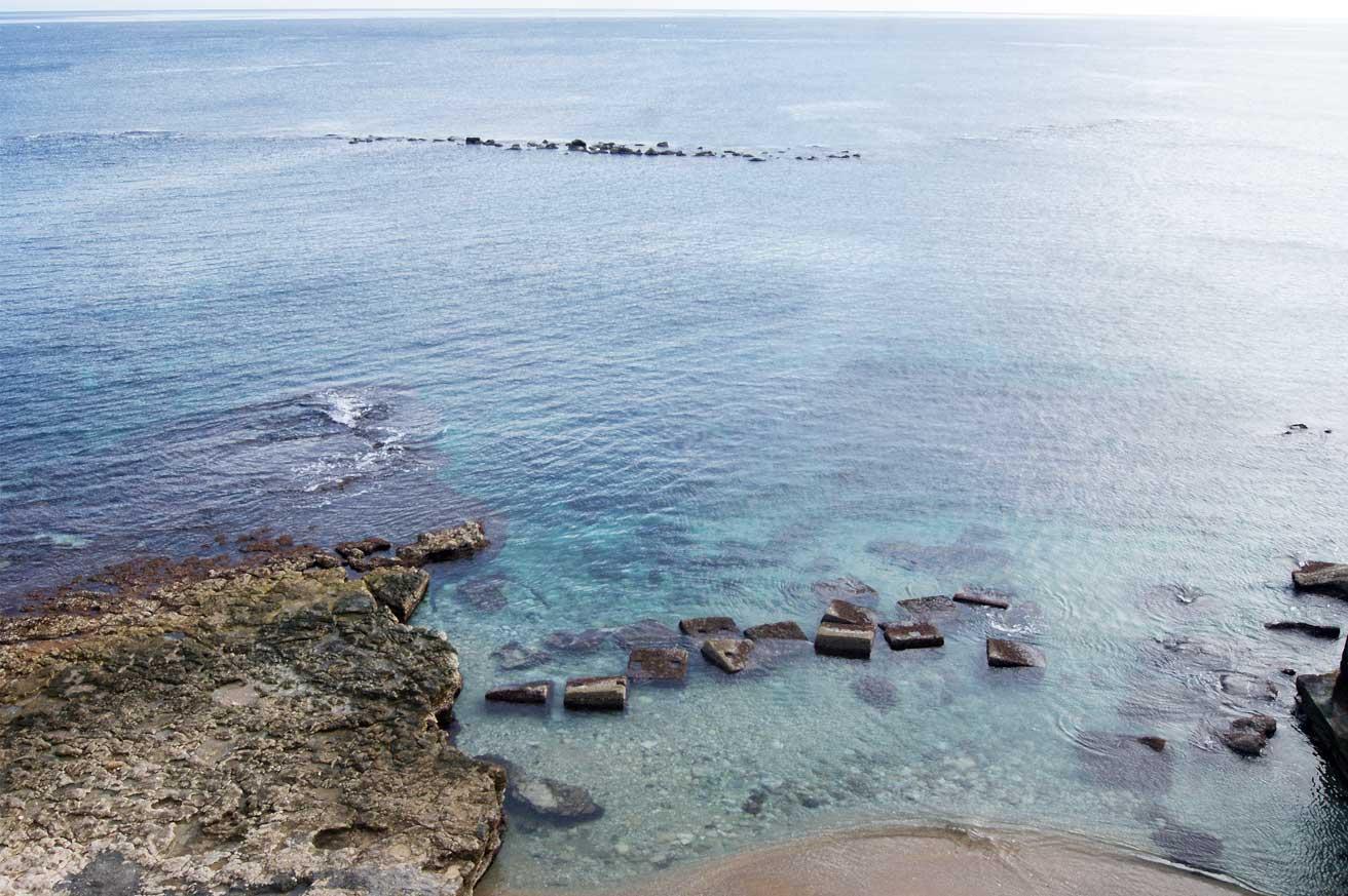 вид моря с маяка Сиракузы