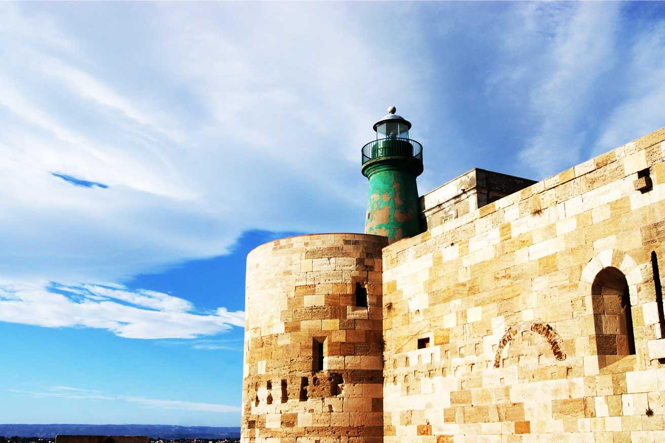 маяк  в сиракузах