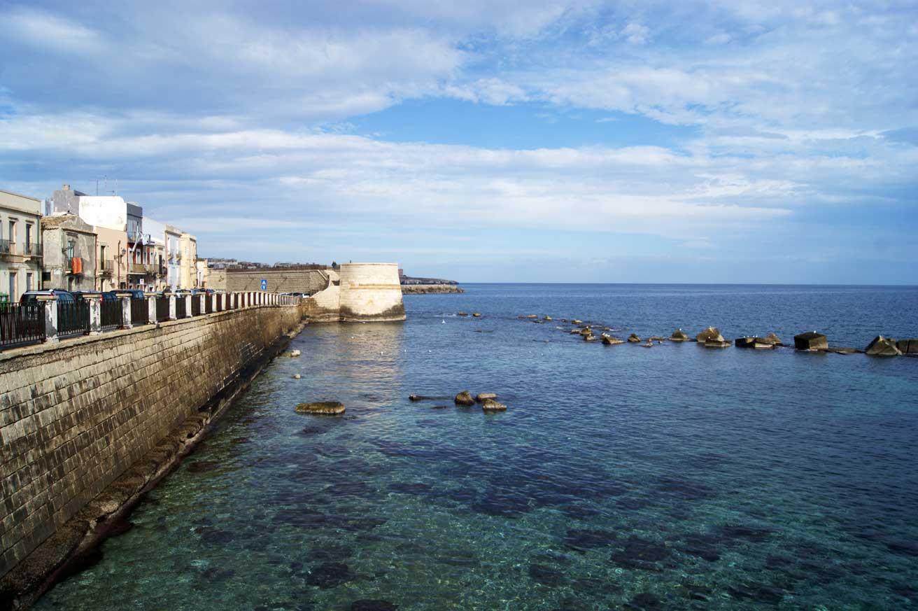 Набережная на острове Ортиджи