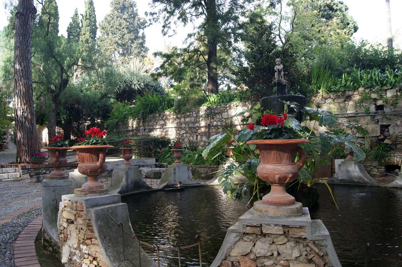 парк пруд