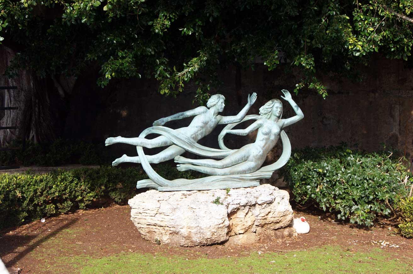 статуя Аретузы и Алфея
