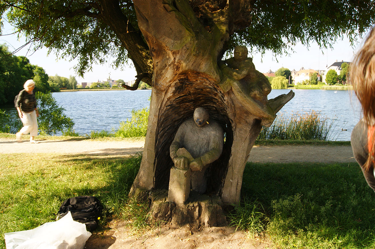 Памятник в Копенгагене
