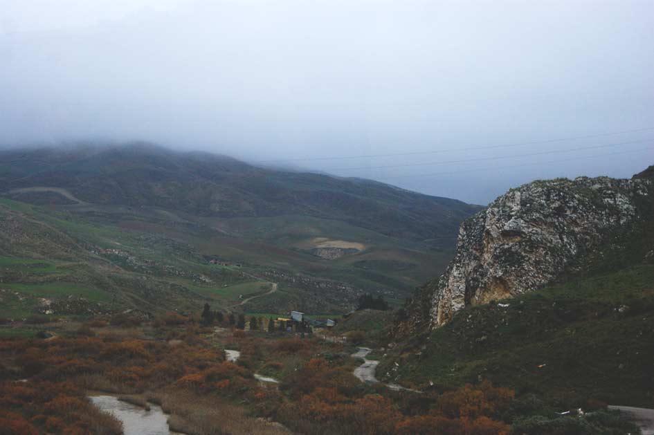 пейзаж гор Сицилии