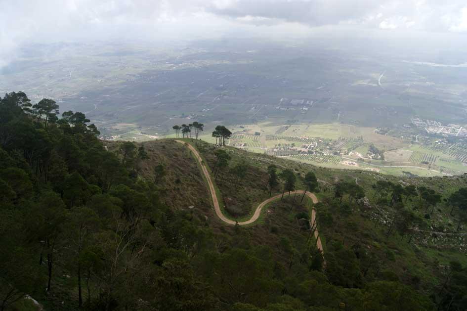 горы в Трапани Эриче