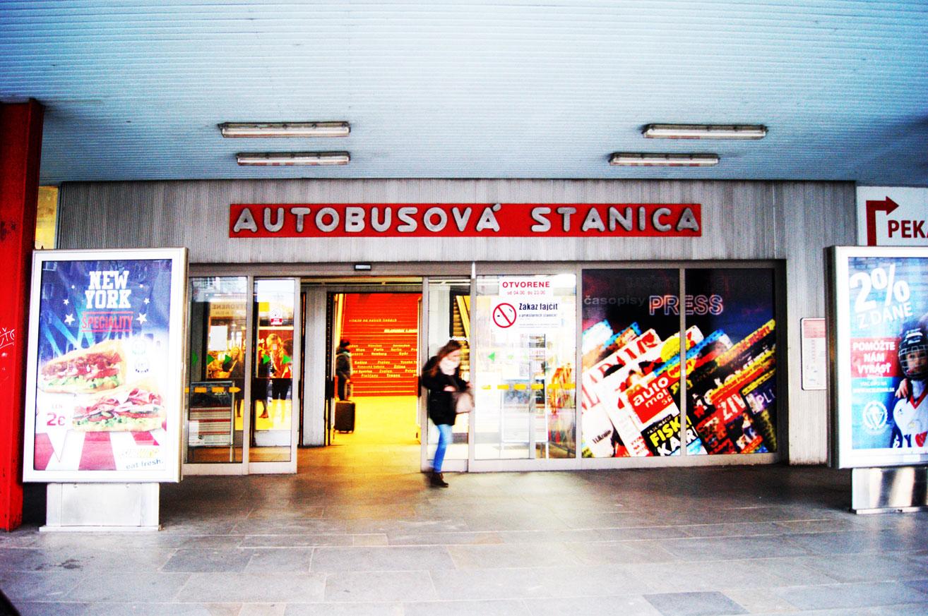 Братислава автобусная станция