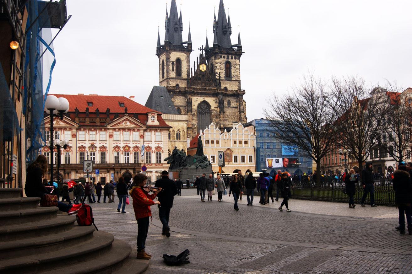Староместская площажь