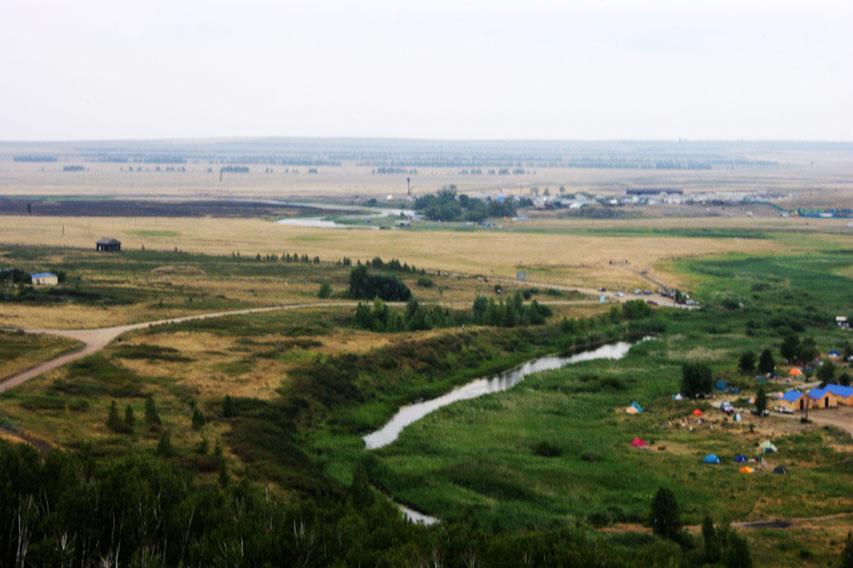 Большая Караганка Аркаим