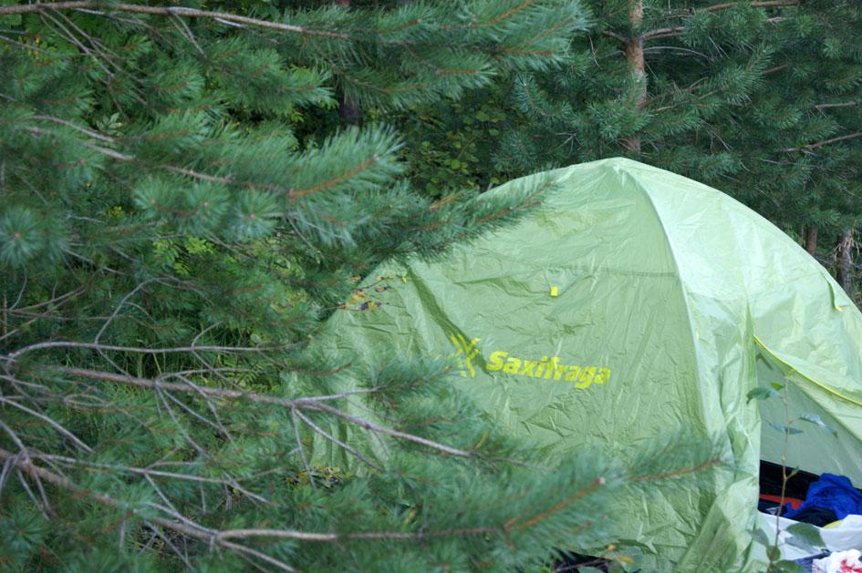 где стаивть палатку в Лаппеенранте