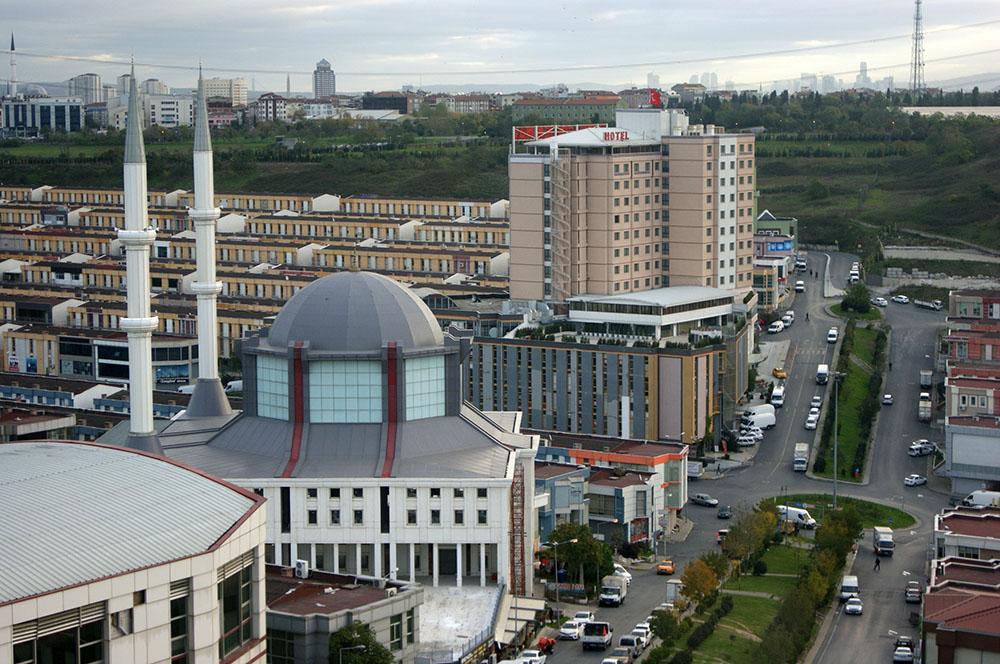 Утренний Стамбул из окна Ramada Plaza 4*