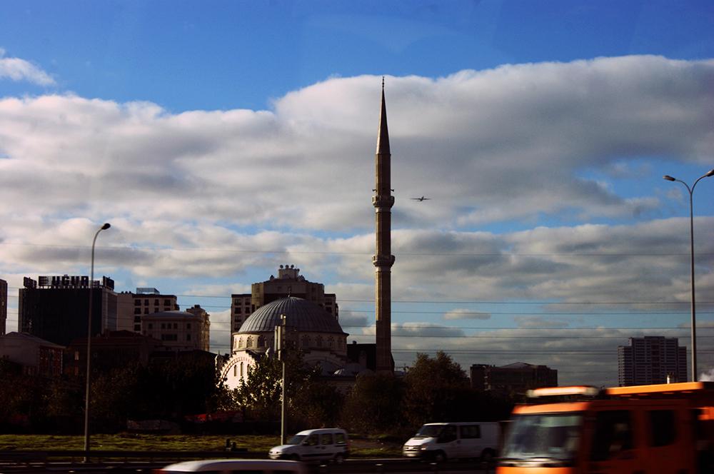 Стамбул и мечеть