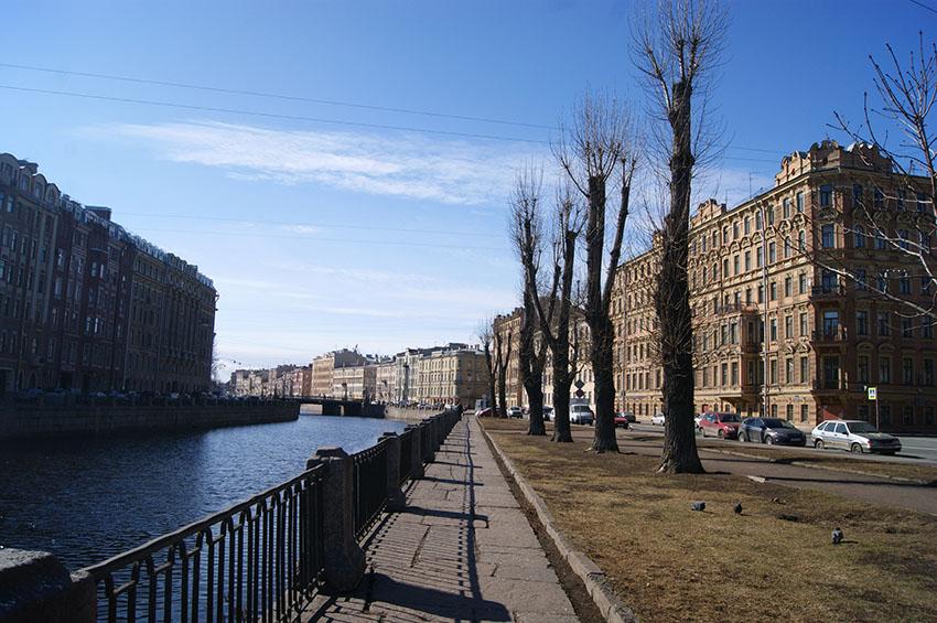Набережная канала Грибоедова и пр. Римского-Корсакова