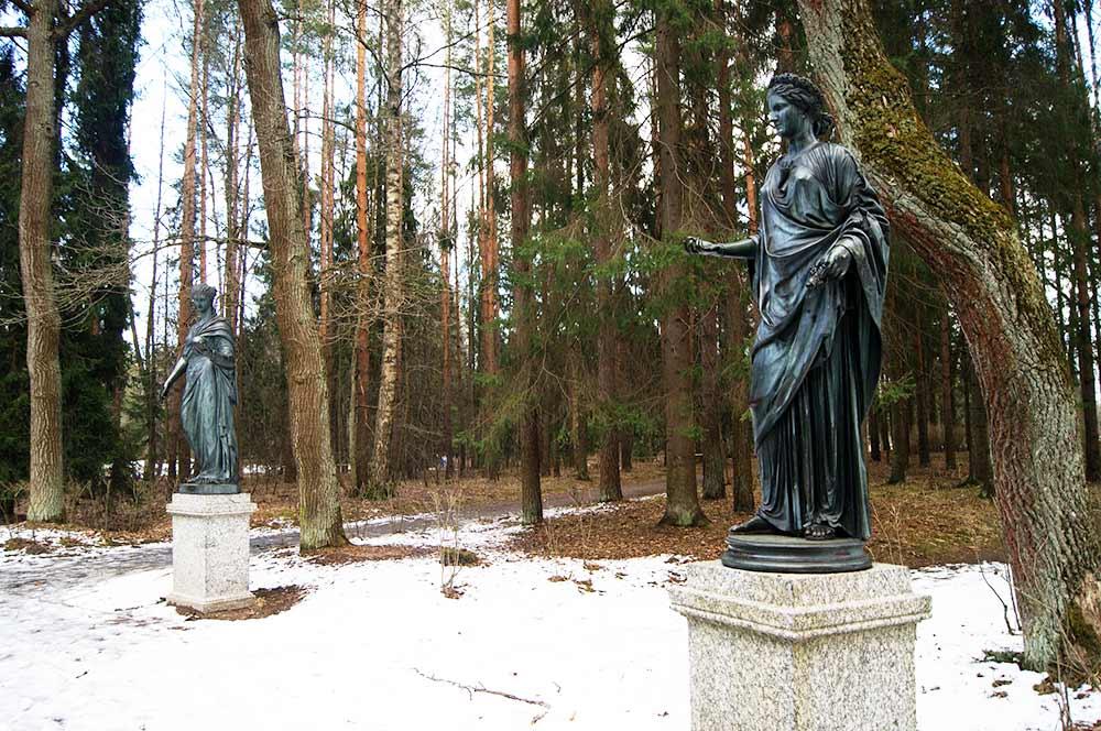 статуи-в-Павловске