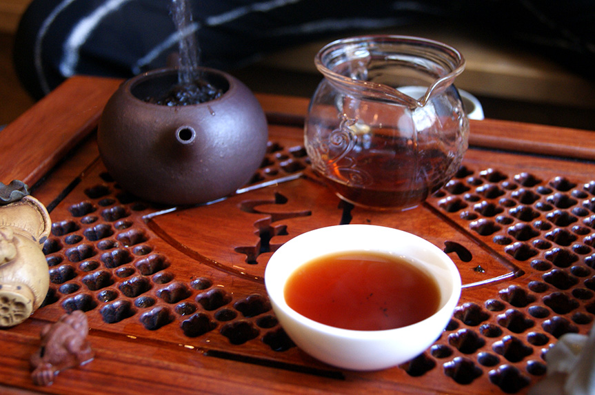 Чай в Teartroom'е
