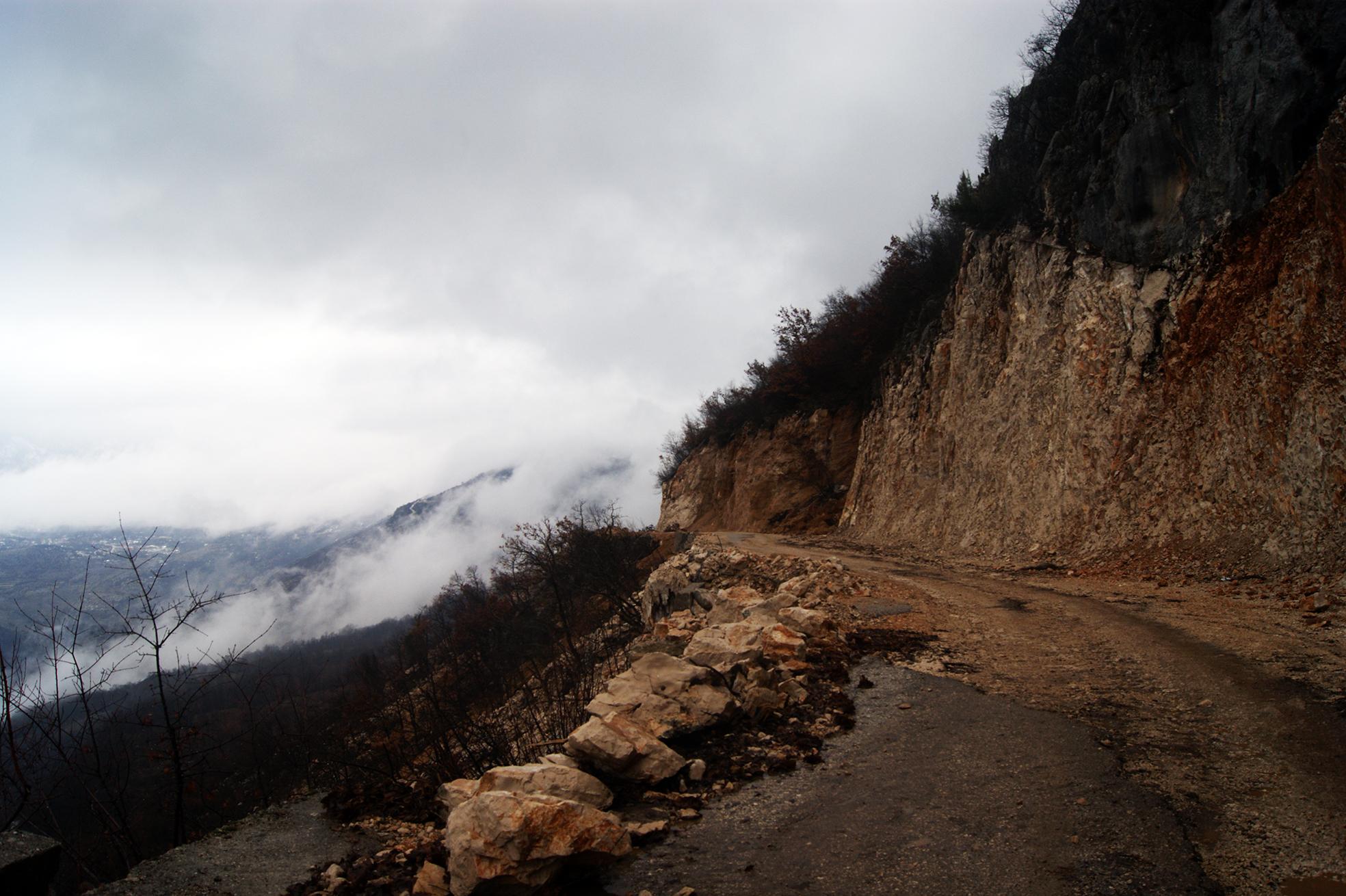 Путь к Острогу в Черногории