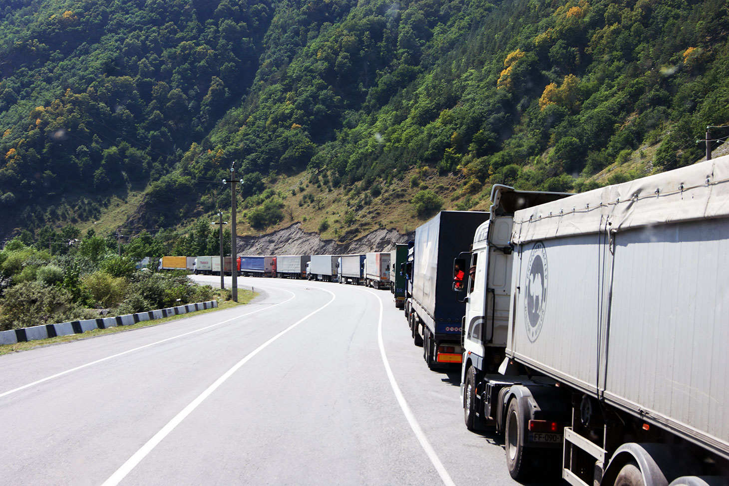 автостоп на Кавказе