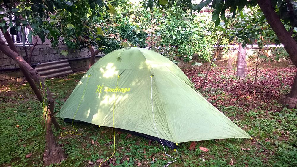 С палаткой по Грузии